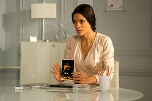 "Photo - Rosario Dawson stars in ""Trance."" Fox searchlight photo"