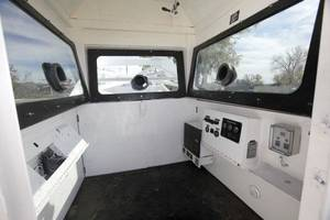 Photo - This is an interior view of the  Norman Police Department's newly acquired Skywatch mobile observation tower, which will be used to deter crime, police said. PHOTO BY PAUL HELLSTERN, THE OKLAHOMAN <strong>PAUL HELLSTERN</strong>
