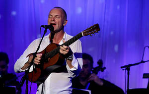 Sting will perform at 7 p.m. Saturday at WinStar World Casino & Hotel, Exit 1, Interstate 35, in Thackerville. For information and tickets, call (580) 276-3100. AP FILE PHOTO