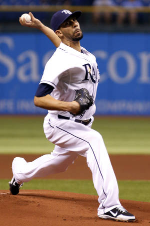 Photo -   Tampa Bay Rays' David Price pitches against the Boston Red Sox during the first inning of a baseball game, Thursday, Sept. 20, 2012, in St. Petersburg, Fla. (AP Photo/Scott Iskowitz)