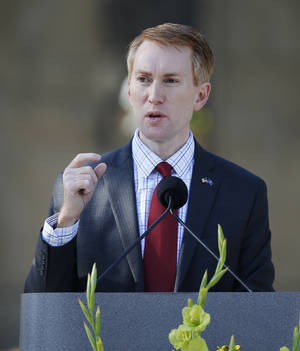 Photo -  Rep. James Lankford has led the charge to reduce fraud in entitlement programs and eliminate duplication across government agencies.  <strong>Sue Ogrocki -  AP </strong>