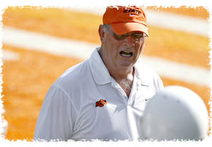 photo - OSU is hoping for a defensive change of fortune against Texas Tech under first-year defensive coordinator Bill Young.  Photo by Bryan Terry, The Oklahoman