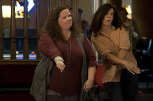 "Photo - Melissa McCarthy and Sandra Bullock star in ""The Heat."" <strong>Gemma La Mana</strong>"