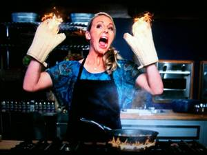 "Photo - Melissa Rhodes appears on ""Worst Cooks in America."" Photo provided"