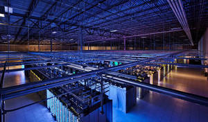 Photo - This undated photo provided by Google shows a Google data center in Hamina, Finland. The Washington Post is reporting Wednesday, Oct. 30, 2013, that the National Security Agency has secretly broken into the main communications links that connect Yahoo and Google data centers around the world. The Post cites documents obtained from former NSA contractor Edward Snowden and interviews with officials. (AP Photo/Google)