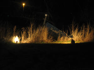 Photo - Image of the downed plane outside Stillwater. Photo provided.