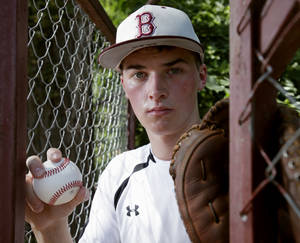 Photo - Blanchard's Blaine Smith will play baseball at Rose State. PHOTO BY STEVE SISNEY, THE OKLAHOMAN