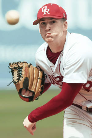 Photo - Owasso's Austin Kirk was 9-1 with a 0.45 ERA on the mound this season and hit .408 with 50 RBIs for the Rams. Photo by STEPHEN HOLMAN, Tulsa World