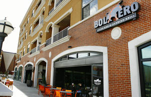 Photo - BUILDING: Exterior of Bolero Tapas Bar & Spanish Grill on the Bricktown Canal Friday afternoon, Feb. 13, 2009.  BY JIM BECKEL, THE OKLAHOMAN ORG XMIT: KOD