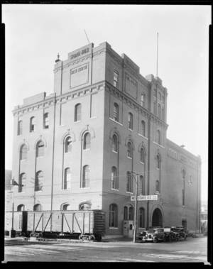 Photo - This photo is of the New State Ice Co. on Second Street at Santa Fe. Photo provided by Oklahoma Historical Society. <strong></strong>