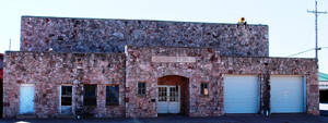 photo - The Thomas Community Building in downtown Thomas, built in 1939 by the Works Progress Administration, was added to the National Register of Historic Places.  PHOTO PROVIDED BY STATE HISTORIC PRESERVATION OFFICE