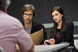 "Photo - Eric McCormack and Rachael Leigh Cook star in the new TNT drama  ""Perception."" TNT PHOTO"