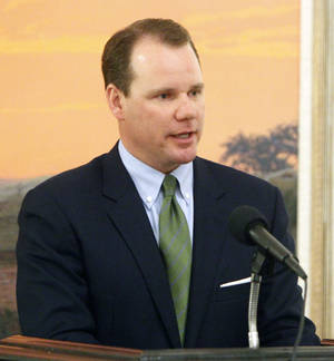 Photo - Lt. Gov. Todd Lamb <strong>PAUL HELLSTERN</strong>
