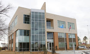 photo - Oklahoma Independent Petroleum Association's new building at 4th and Lincln, Wednesday, January 16, 2013.  Photo By David McDaniel/The Oklahoman