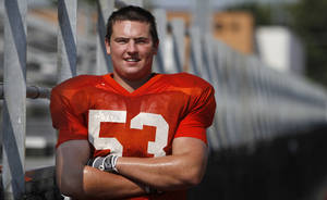 Photo - Zac Uhles in Norman, Monday August 13, 2012. Photo By Steve Gooch, The Oklahoman <strong>Steve Gooch</strong>