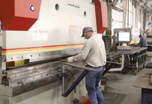 Chickasaw Nation Industries has begun manufacturing oil field equipment