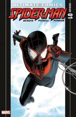 "Photo - Miles Morales takes on the role of Spider-Man in ""Ultimate Comics Spider-Man"" No.  1from Marvel, on sale this week.   Marvel Comics. <strong></strong>"