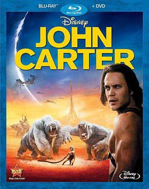"Photo - ""John Carter"" Blu-ray. <strong></strong>"