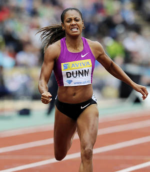 Photo - Debbie Dunn took her name off the U.S. Olympic team roster after testing positive for excessive testosterone. AP photo