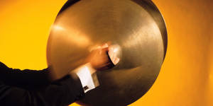 Photo - Man playing cymbals