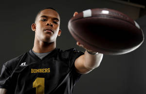 Photo - HIGH SCHOOL FOOTBALL: All-State football player Ricky Reeves, of Midwest City, poses for a photo in Oklahoma CIty, Wednesday, Dec. 14, 2011. Photo by Bryan Terry, The Oklahoman