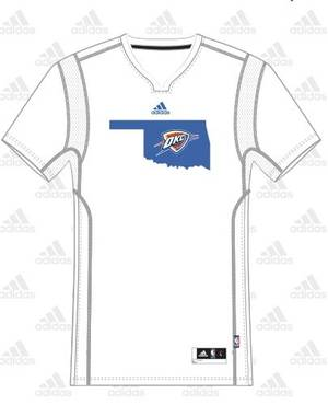 Photo - The Thunder's summer league jersey. PROVIDED BY THE THUNDER