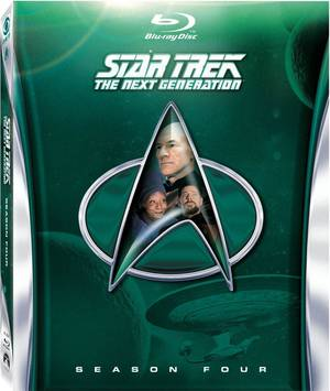 "Photo - ""Star Trek: The Next Generation"" Season Four Blu-ray <strong></strong>"