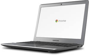 Photo - The Samsung Chromebook from Google. AP PHOTO/GOOGLE <strong>Uncredited</strong>