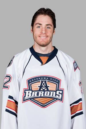 Photo - MUG / OKLAHOMA CITY BARONS / AHL HOCKEY: Alex Plante, OKC Barons Individuals.2012-13 Season ORG XMIT: SCPA0106