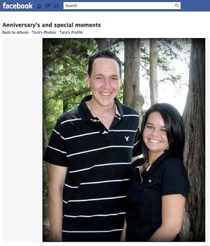 Photo - Daniel and Tara Johnston are shown in this screenshot taken from Facebook. Tara Johnston and her daughter, Allison, shown in a screenshot at right, were found dead Tuesday in their northeast Oklahoma City home. Daniel Johnston's body was found by police in a Las Vegas hotel room Tuesday night. PHOTOS PROVIDED