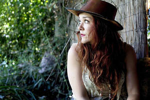 Photo - Oklahoma-born and bred singer-songwriter Audra Mae performed Sunday at the Blue Door.  Photo provided