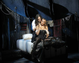 """Photo - Constantine Maroulis and Debroah Cox head the cast of """"Jeckyll & Hyde."""" Photo by Chris Bennion. <strong>Chris Bennion</strong>"""