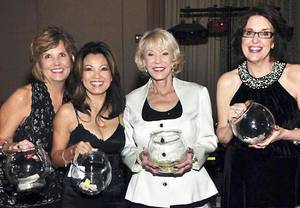 photo - Marion Paden, Barbara Newey, Tina Majors, Valerie Aubert. Photo provided