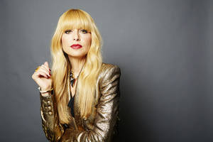 """Photo -      Celebrity stylist Rachel Zoe poses for a portrait in promotion of her second book, """"Living in Style: Inspiration and Advice for Everyday Glamour,"""" on  March 25 in New York. AP PHOTO  <strong>Dan Hallman -  Dan Hallman/Invision/AP </strong>"""
