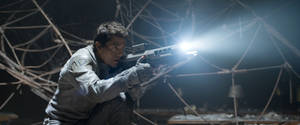 "Photo - This film publicity image released by Universal Pictures shows Tom Cruise in a scene from ""Oblivion."" (AP Photo/Universal Pictures)"