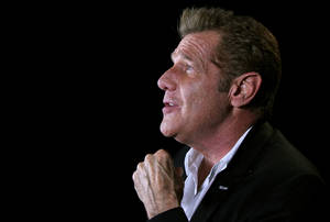 "Photo -   In this May 7, 2012 photo, musician Glenn Frey is shown in New York. On his latest solo record ""After Hours,"" Frey covers artist like Tony Bennett, Nat King Cole, and the Beach Boys. (AP Photo/John Carucci)"