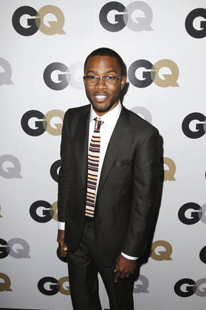 "Photo -   FILE - In this Nov. 17, 2011 file photo, Frank Ocean arrives at the 16th annual GQ ""Men of the Year"" party in Los Angeles. On Wednesday, July 4, 2012, Ocean, the rising and highly acclaimed singer revealed on his website that his first love was a man. (AP Photo/Matt Sayles, File)"
