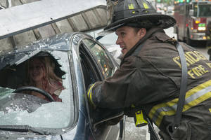 """Chicago Fire""  star Jesse Spencer as Matthew Casey. NBC Photo <strong>NBC</strong>"