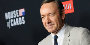 "Photo - LOS ANGELES, CA - FEBRUARY 13:  Actor Kevin Spacey attends a screening of ""House Of Cards"" at Directors Guild Of America on February 13, 2014 in Los Angeles, California.  (Photo by Jason LaVeris/FilmMagic)"