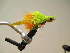 Photo -  The Femme Fatale is a good fly to use for bass fishing. Photo provided  <strong> -   </strong>