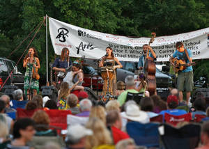 Photo - Elephant Revival performs at a Summer Breeze concert in Norman last year. OKLAHOMAN ARCHIVES <strong>Mitchell Alcala</strong>