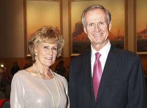 photo - Judy Hatfield, John Richels.  PHOTOs BY DAVID FAYTINGER, FOR THE OKLAHOMAN