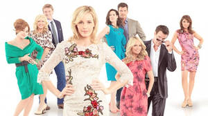 "Photo - The cast of the new Sunday night ABC television show ""GCB"" is featured in a promotional poster. Photo provided by ABC <strong></strong>"