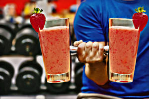 photo - Fitness smoothies on Tuesday, Aug. 28, 2012, in Oklahoma City, Okla.  Photo Illustration by Chris Landsberger, The Oklahoman