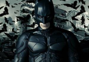 "Photo - Christian Bale stars as Batman in ""The Dark Knight Rises.""  Warner Bros. <strong></strong>"