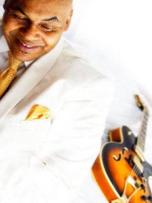 Oklahoma City jazz guitarist Maurice Johnson will perform in concert at 7:30 p.m. Sunday at the Santa Fe Depot in Norman. PHOTO PROVIDED