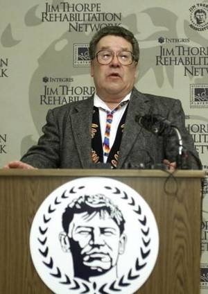 photo - Jack Thorpe is seen in this 2001 file photo.