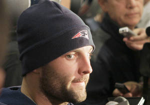 photo - Wes Welker is using his doubters and detractors as motivation. AP photo
