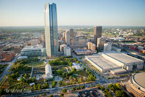 photo - A revitalized downtown Oklahoma City will be shown off to a worldwide audience during the NBA Finals this week at the Chesapeake Energy Arena. <strong>Photo © Insight Visual Media</strong>