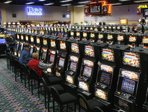 Photo - FILE PHOTO: The Cheyenne and Arapaho Tribes want to offer online gaming to international players through the website pokertribes.com. Shown is the tribes' Lucky Star Casino in Concho. <strong>PAUL HELLSTERN - THE OKLAHOMAN</strong>